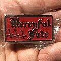 Mercyful Fate - Pin / Badge - Mercyful Fate pin red version