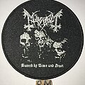 Mayhem - Patch - Mayhem Buried By Time And Dust circle patch