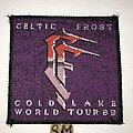 Celtic Frost - Patch - Celtic Frost Cold Lake World Tour 1989 patch
