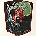 Sodom - Patch - Sodom In The Sign Of Evil patch burgundy border