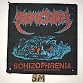 Sepultura - Patch - Sepultura Schizophrenia patch