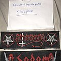 Possessed - Patch - Possessed and Sodom strip patches