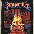 Benediction - Patch - Benediction back patch