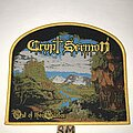 Crypt Sermon - Patch - Crypt Sermon Out Of The Garden patch yellow border