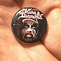 King Diamond - Pin / Badge - King Diamond Conspiracy button