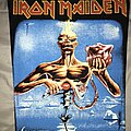 Iron Maiden - Patch - Iron Maiden Seventh Son back patch for you