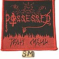 Possessed - Patch - Possessed Death Metal demo patch red border