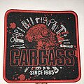 Carcass - Patch - Carcass Since 1985 patch red border
