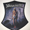 Megadeth - Patch - Megadeth Countdown To Extinction shield patch