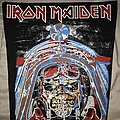 Iron Maiden - Patch - Iron Maiden Aces High back patch small version different print