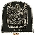 Jeff Hanneman - Patch - Jeff Hanneman tribute patch silver glitter border