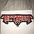 Testament - Patch - Testament embroidered back shape