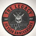 Testament - Patch - Testament The Legacy 30th anniversary circle patch