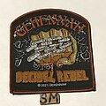 Gehennah - Patch - Gehennah Decibel Rebel patch brown border