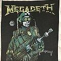 Megadeth - Patch - Megadeth back patch