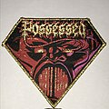 Possessed - Patch - Possessed Beyond The Gates diamond patch gold glitter border