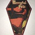 Mercyful Fate - Patch - Mercyful Fate Melissa coffin patch red glitter border
