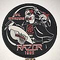 Razor - Patch - Razor Evil Invaders circle patch