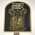 Atlantean Kodex - Patch - Atlantean Kodex Heresiarch patch tan border