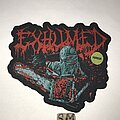 Exhumed - Patch - Exhumed Horror cut out patch