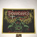 Possessed - Patch - Possessed The Eyes Of Horror patch yellow border