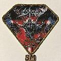 Sodom - Patch - Sodom Genesis XIX patch gold glitter border
