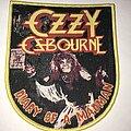 Ozzy Osbourne - Patch - Ozzy Osbourne Diary Of A Madman patch yellow border