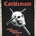 Candlemass - Patch - Candlemass Epicus Doomicus Metallicus back patch
