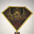 Vader - Patch - Vader Solitude In Madness diamond patch yellow border