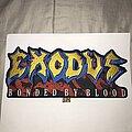 Exodus - Patch - Exodus Bonded By Blood back shape