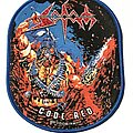 Sodom - Patch - Sodom Code Red patch blue border