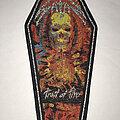 Satan - Patch - Satan Trail Of Fire coffin patch