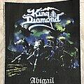 King Diamond - Patch - King Diamond back patch