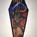 Cancer - Patch - Cancer Death Shall Rise coffin patch