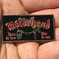 Motörhead - Pin / Badge - Motörhead Born To Lose pin