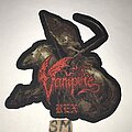 Vampire - Patch - Vampire Rex cut out patch