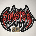 Sinister - Patch - Sinister embroidered logo patch