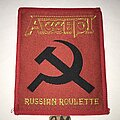 Accept - Patch - Accept Russian Roulette patch red border