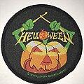 Helloween - Patch - Halloween Pumpkin Drummer circle patch