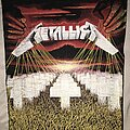 Metallica - Patch - Metallica Master Of Puppets back patch