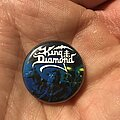 King Diamond - Pin / Badge - King Diamond Abigail button