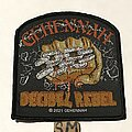 Gehennah - Patch - Gehennah Decibel Rebel patch
