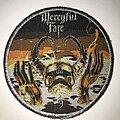 Mercyful Fate - Patch - Mercyful Fate 9 circle patch silver glitter border