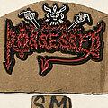 Possessed - Pin / Badge - Possessed 'Death Metal' demo pin