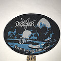 Desaster - Patch - Desaster Tyrants Of The Netherworld oval patch