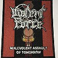 Violent Force - Patch - Violent Force Malevolent Assault Of Tomorrow patch