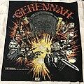 Gehennah - Patch - Gehennah Too Loud To Live Too Drunk To Die back patch