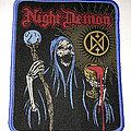 Night Demon - Patch - Night Demon Rocky patch