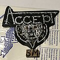 Accept - Patch - Accept old logo cut out patch
