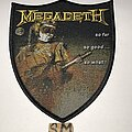 Megadeth - Patch - Megadeth So Far, So Good…So What! Shield patch